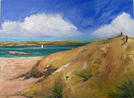 OBAN Scotland, view west. Oil on Panel 9x12_ $380.jpeg
