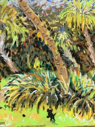 Pastel - Weldon B Lewis Park in Ft Pierce, FL $110