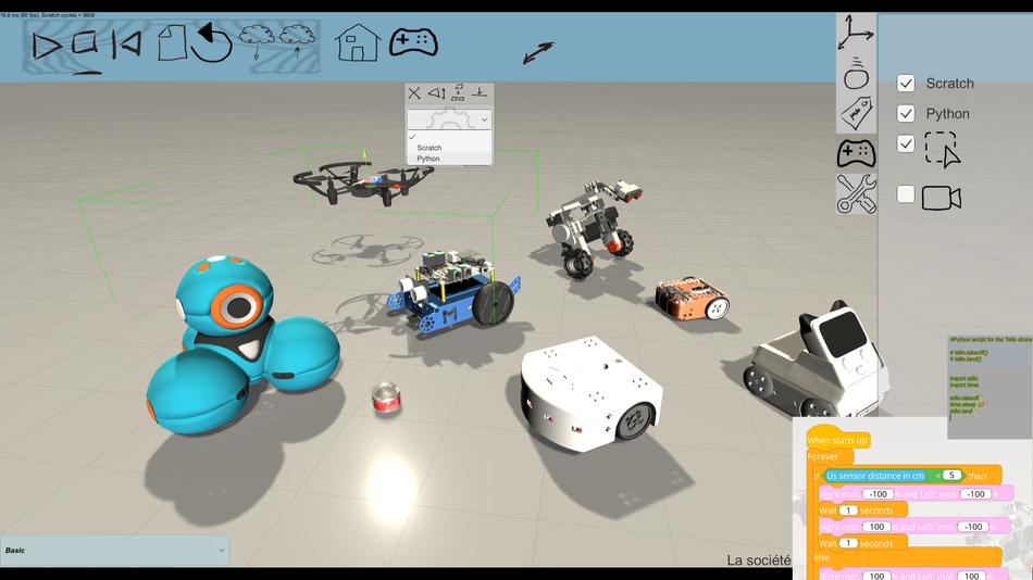 Simuladores de robótica educativa para la promoción del pensamiento computacional