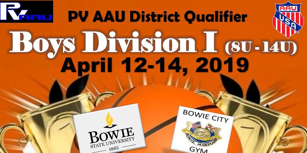 PV Boys D1 AAU District Qualifier