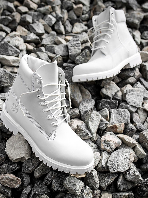 Ghost White Timberlands