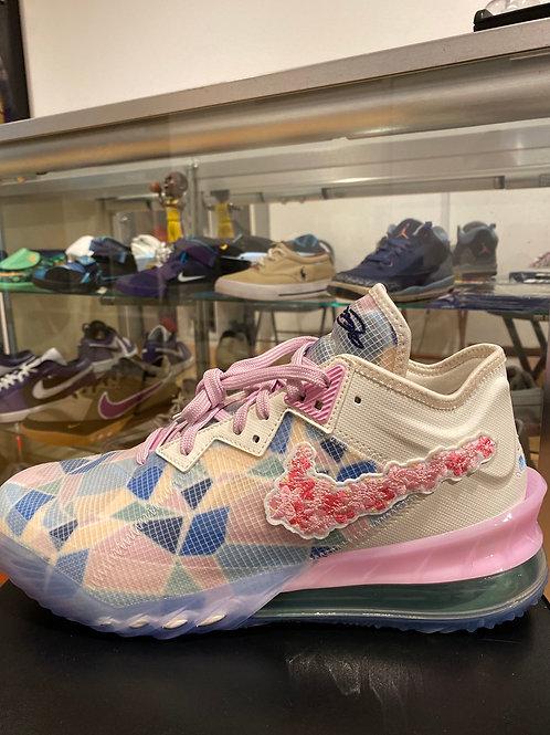 Nike LeBron 18 Low atmos Cherry Blossom