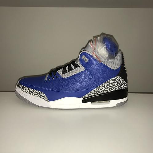"Air Jordan 3 ""Blue Cement"""