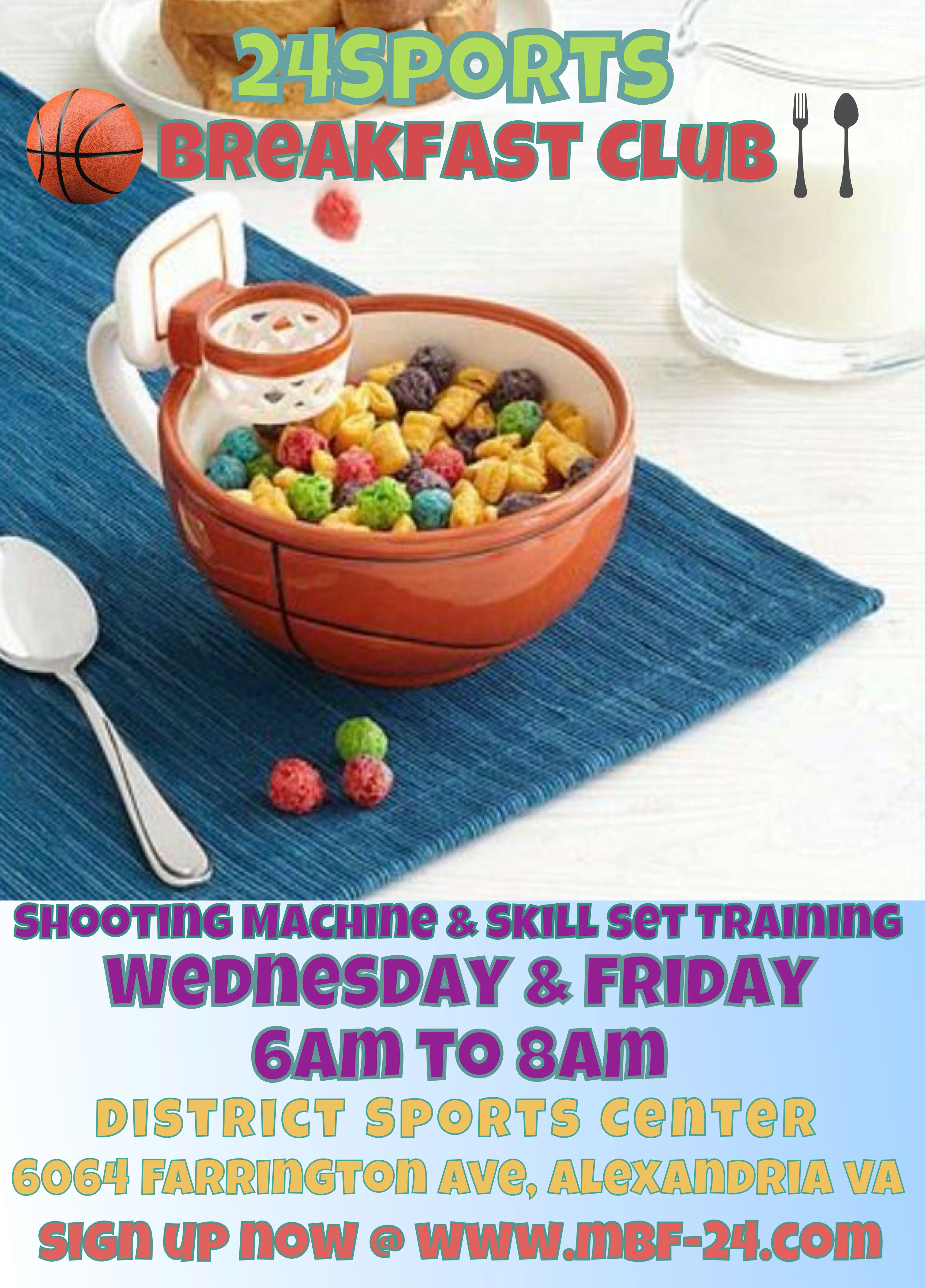 Breakfast Club AM Workout