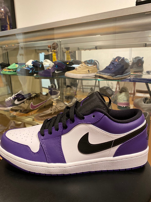 Air Jordan 1 Low Court Purple White