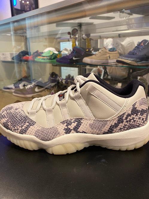 Air Jordan 11 Low Snakeskin