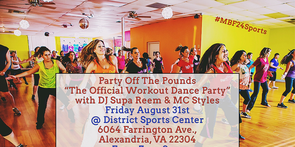 Party Off The Pounds - 'The Official Workout Dance Party' (1)