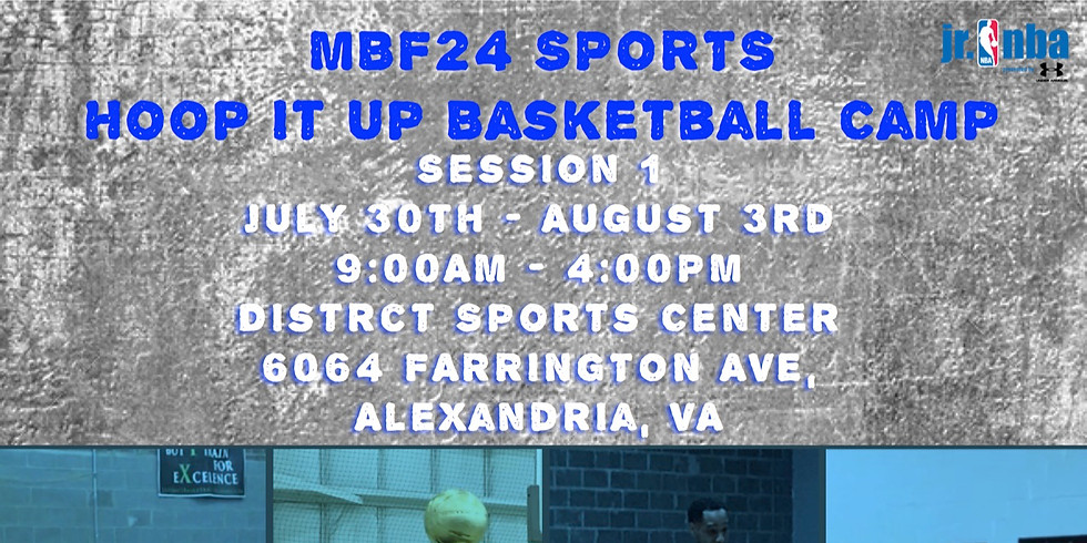 MBF24 Sports Hoop It Up Basketball Camp (Session 1)