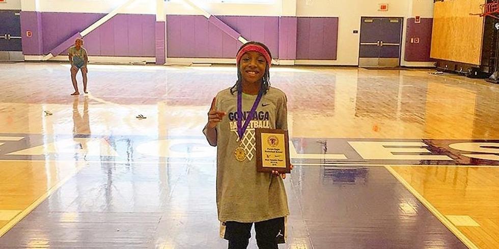 Purple Hoops Basketball School