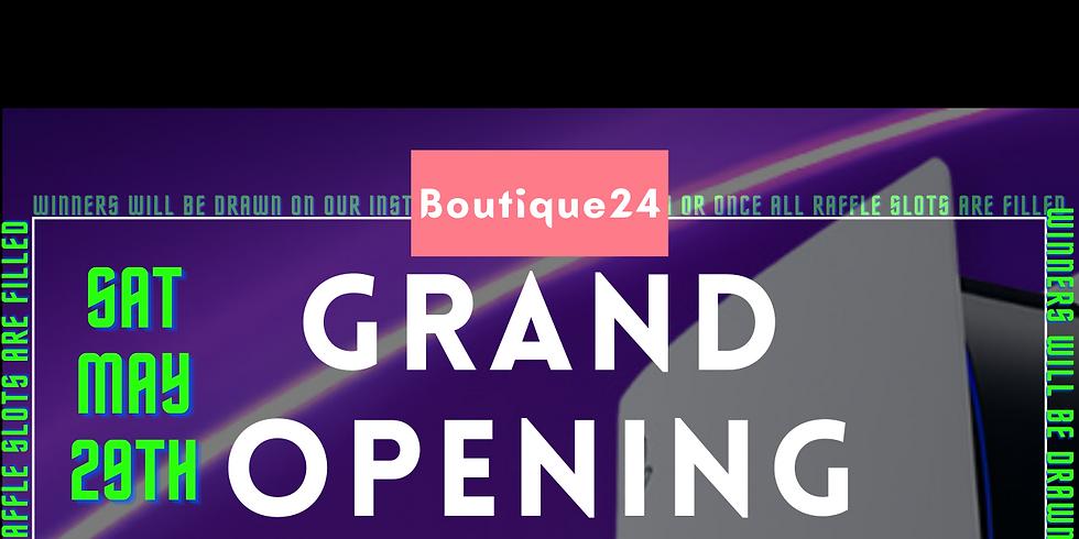 Boutique24 PS5 Raffle