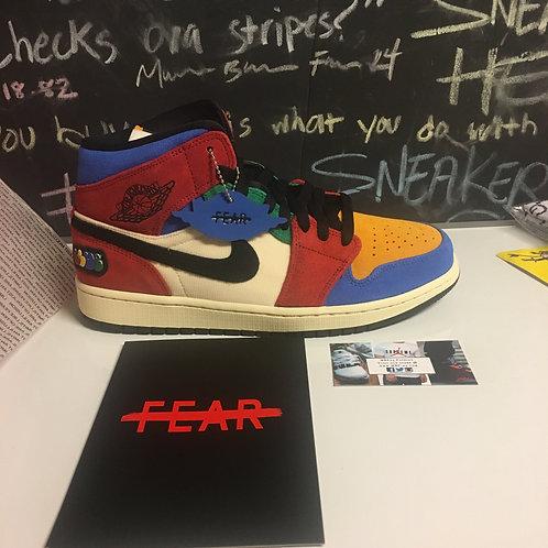 Air Jordan 1 'Fearless - Blue The Great'