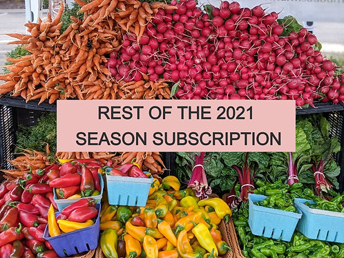 Full subscription, now- october