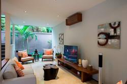 Villa M TV area