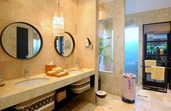 Twin Master Bathroom