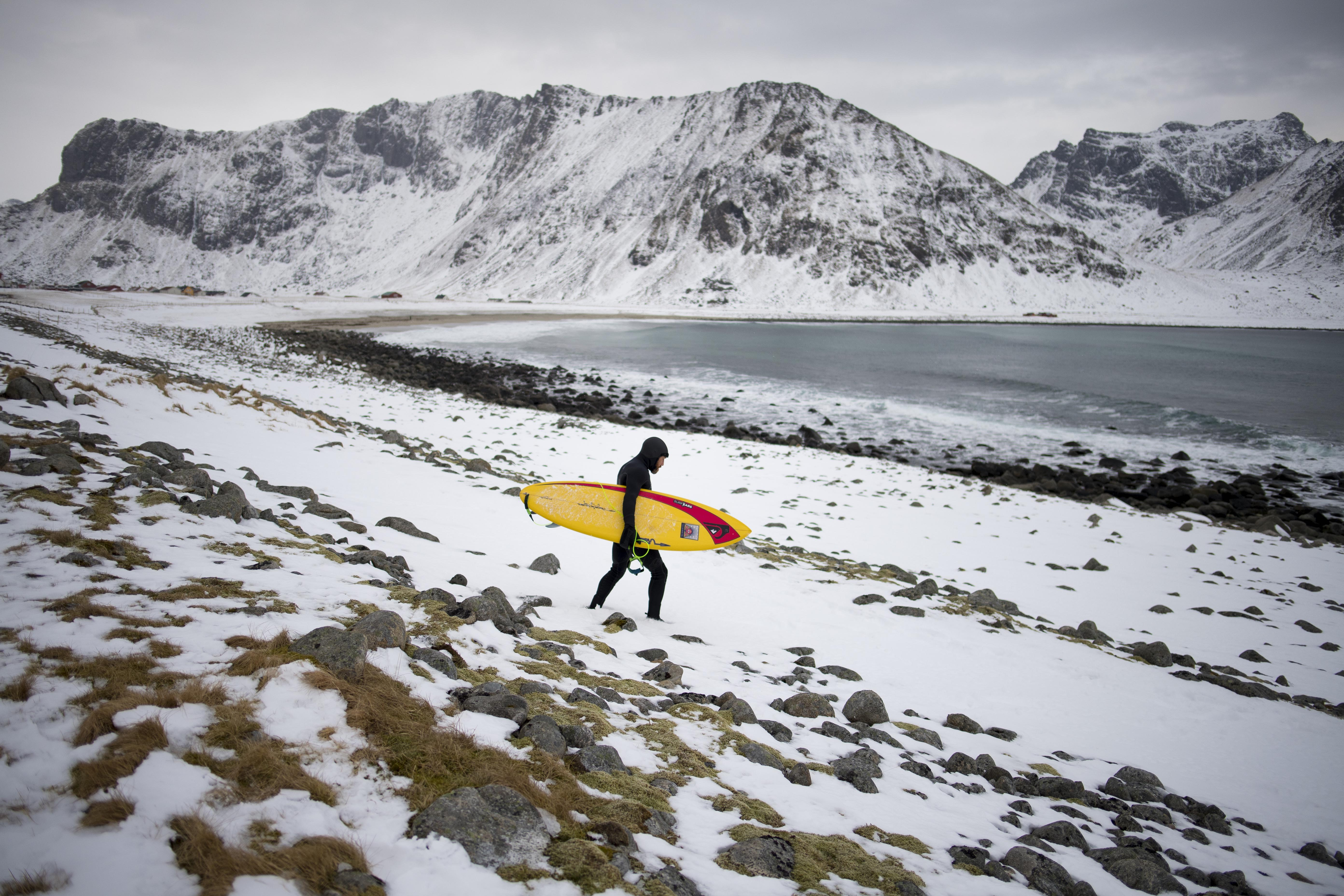 Tom Carroll , Lofoten, March 2017