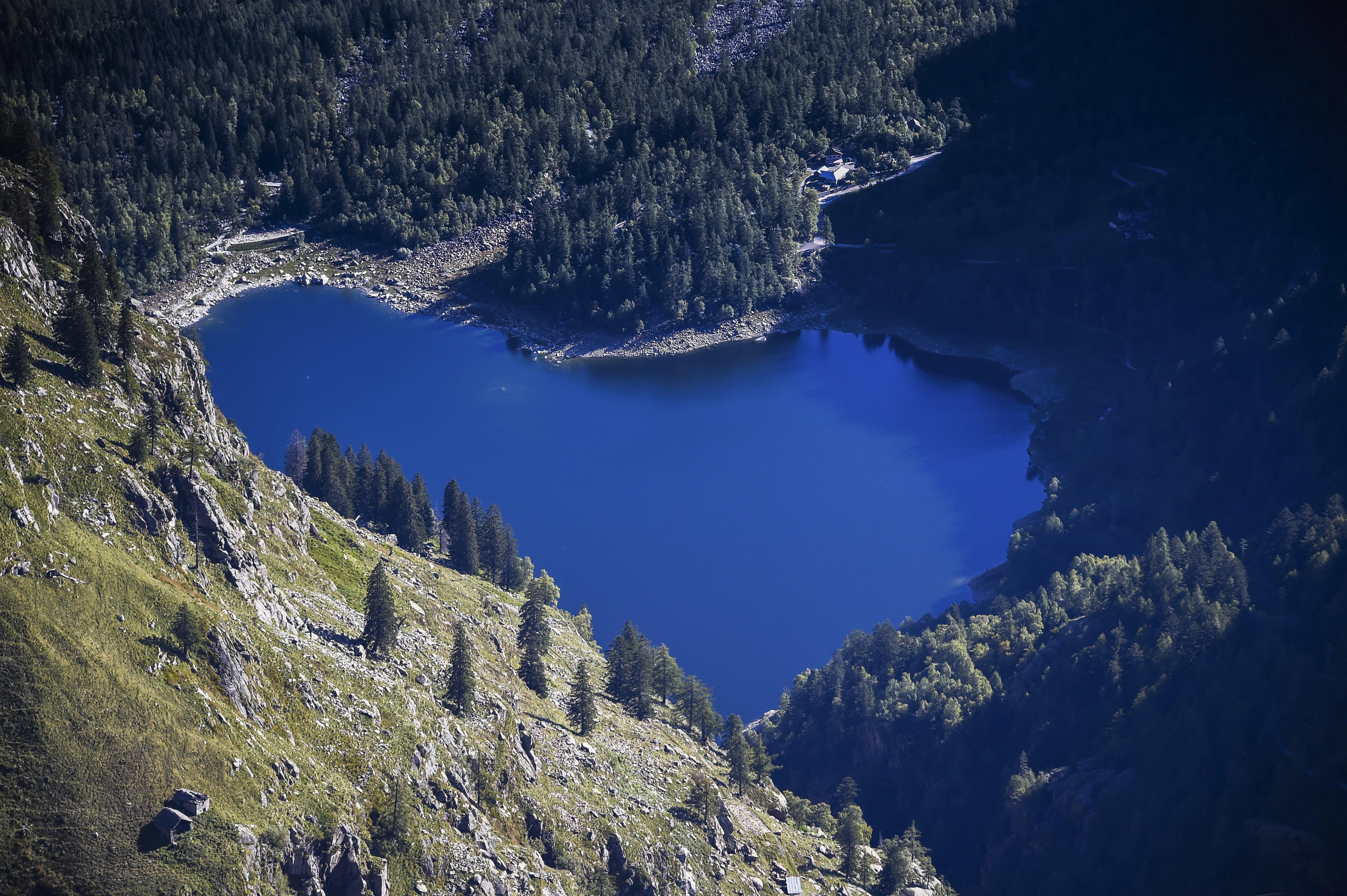 Antrona lake, Italy, 2015
