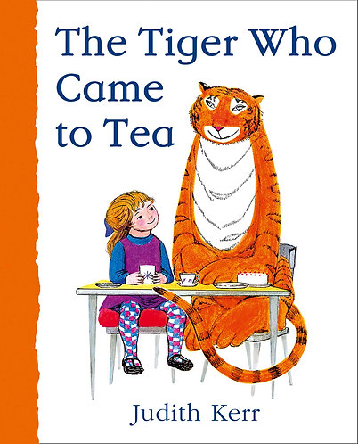 The Tiger Who Came to Tea Book by Judith Kerr