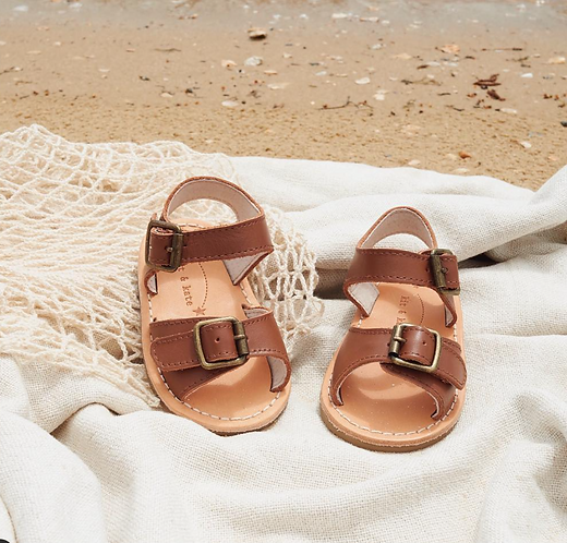 Kit and Kat Sandals - Scout Tan