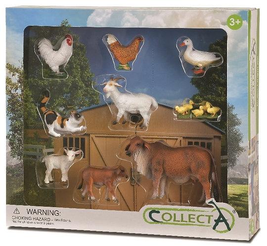 CollectA Farm Animals Set - 9pcs