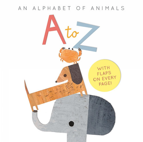 A to Z- an Alphabet of Animals Book by Harriet Evans and Linda Tordoff