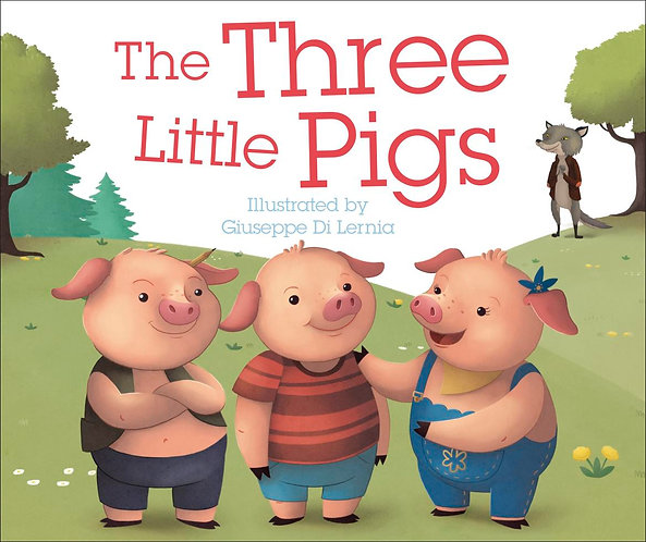 The Three Little Pigs by DK