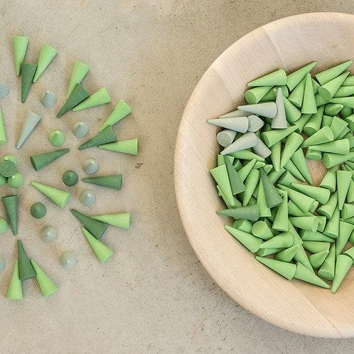 Grapat Mandala Green Cones Singapore