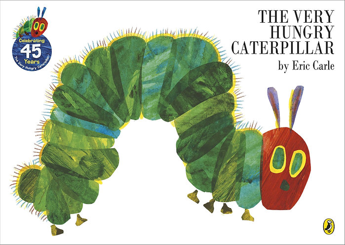 The Very Hungry Caterpillar by Eric Carle - Mellow Singapore