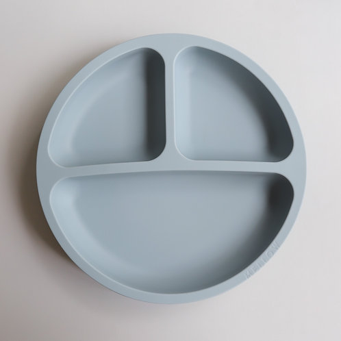 Silicone Suction Plate - Sky