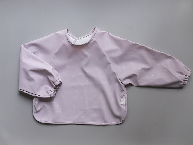 Mellow Bib Cape - Geometric / Lilac Wish