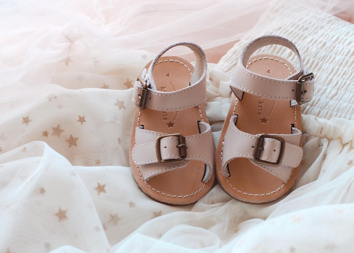 Kit & Kat Sandals - Scout Shell Pink