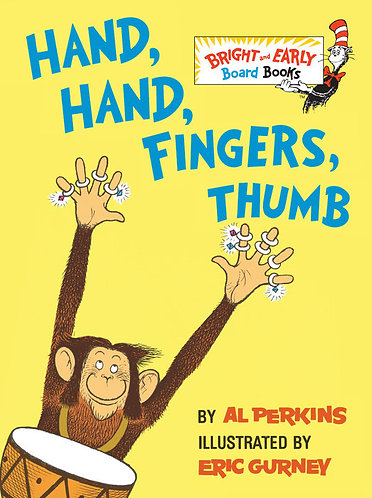 Hand, Hand, Fingers, Thumb Book by Al Perkins