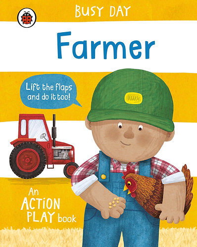 Busy Day: Builder: An Action Play Book Book by Dan Green
