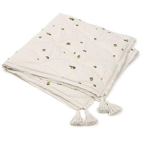 Konges Slojd Baby Quilt Blanket - Lemon