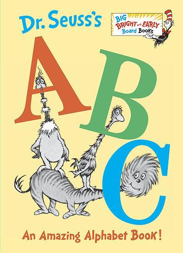 Dr. Seuss's ABC Book by Dr. Seuss