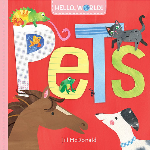 Hello, World! Pets Jill Mcdonald