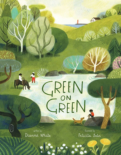 Green on Green Book by Dianne White