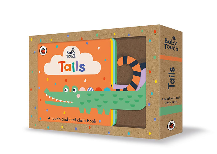 BABY TOUCH: TAILS CLOTH BOOK