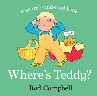 Where's Teddy? Book by Rod Campbell