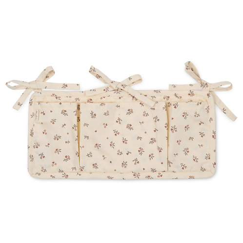 Konges Slojd Quilted Bed Pockets - Petit Amour Rose