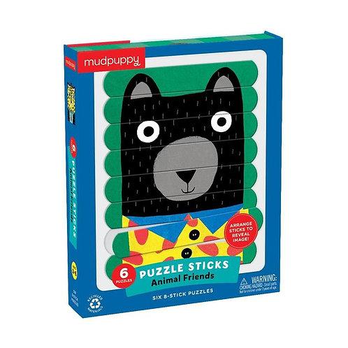 Animal Friends Puzzle Sticks