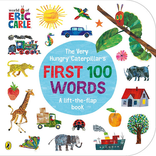 The Very Hungry Caterpillar's First 100 Words Book