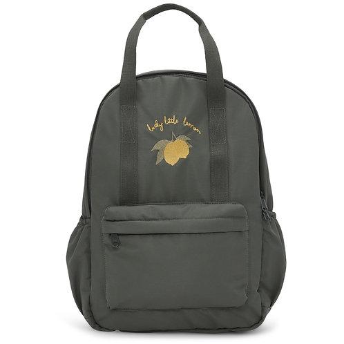 Konges Slojd Junior Loma Backpack - Moss Grey