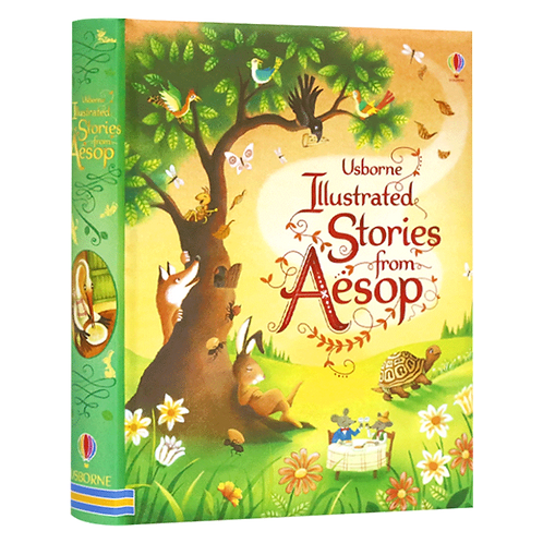 Usborne Illustrated Stories from Aesop Book by Susanna Davidson
