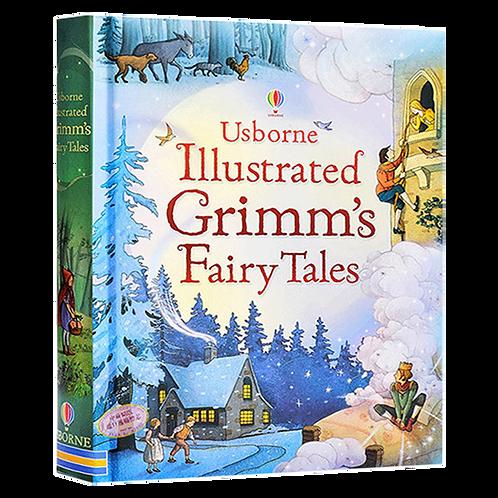 Usborne Illustrated Grimm's Fairy Tales - Gillian Doherty