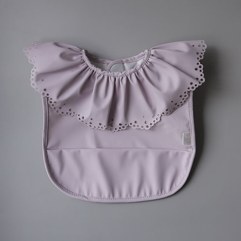 Mellow Ballerina Baby Bib - Lilac Wish