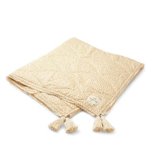 Konges Slojd Baby Quilt Blanket - Buttercup Yellow