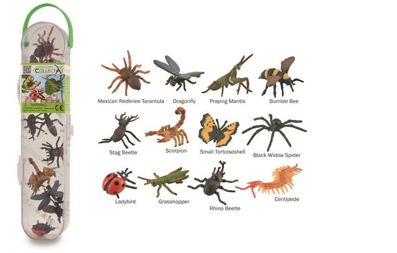 CollectA Mini Insects and Spiders Set
