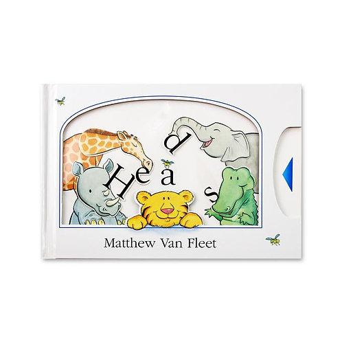 Heads Book by Matthew Van Fleet