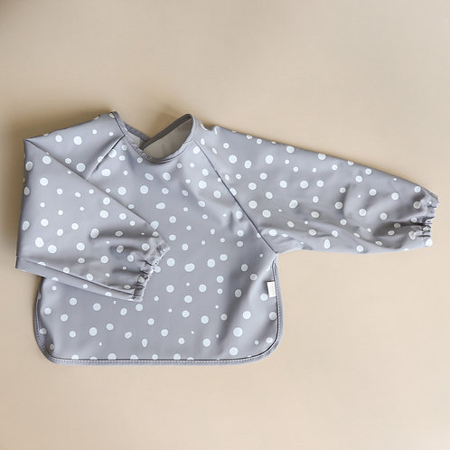 Mellow Singapore Bib Cape - Spots / Rainwashed