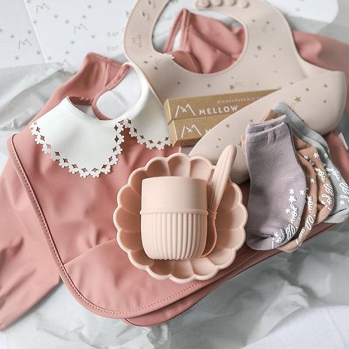 Mellow Singapore Mellow Baby Gift Set - Rose
